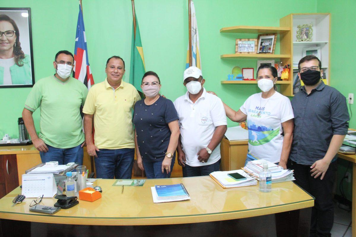 Prefeitura Municipal de Nova Olinda do Maranhão firma parceria de colaboração com a FUNASA e SAAE.