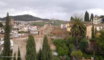 Vistas desde el Palacio de Dar al Horra