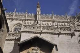 Fachada de la Capilla Real de Granada