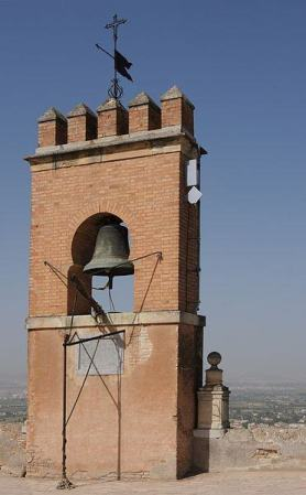 Vela Tower, watcher of the Alhambra