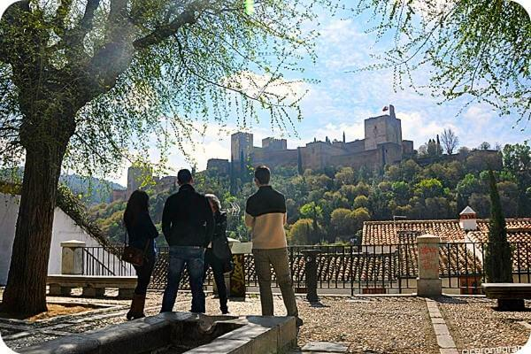 Join a group to visit Granada