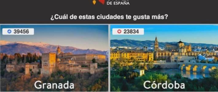 Granada, la ciudad más bonita de España