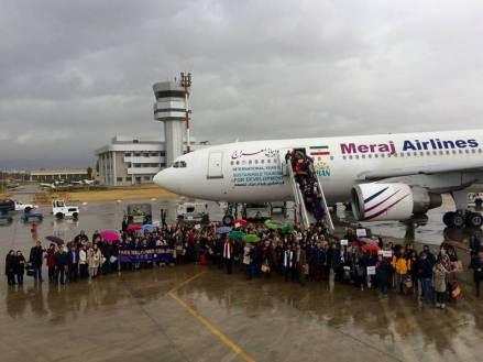 Avión de Teherán a Shiraz