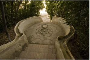 Escalera del Agua -PAtronato de la Alhambra