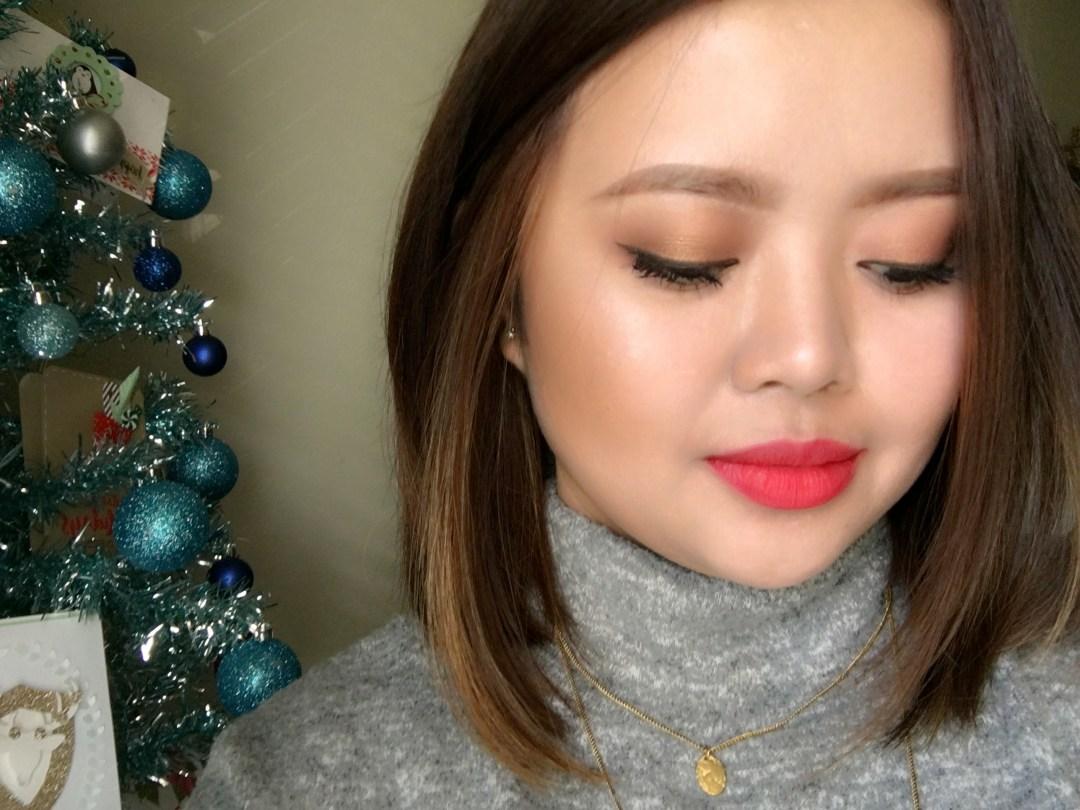Holiday makeup using Tarte's Tarteist Pro Palette tutorial