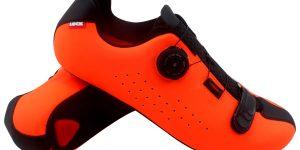 Zapatillas Ciclismo Carretera Luck Isasa Naranja