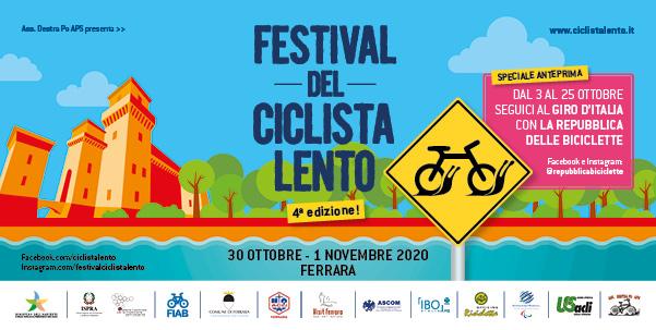 Festival del Ciclista Lento 2020: special edition!
