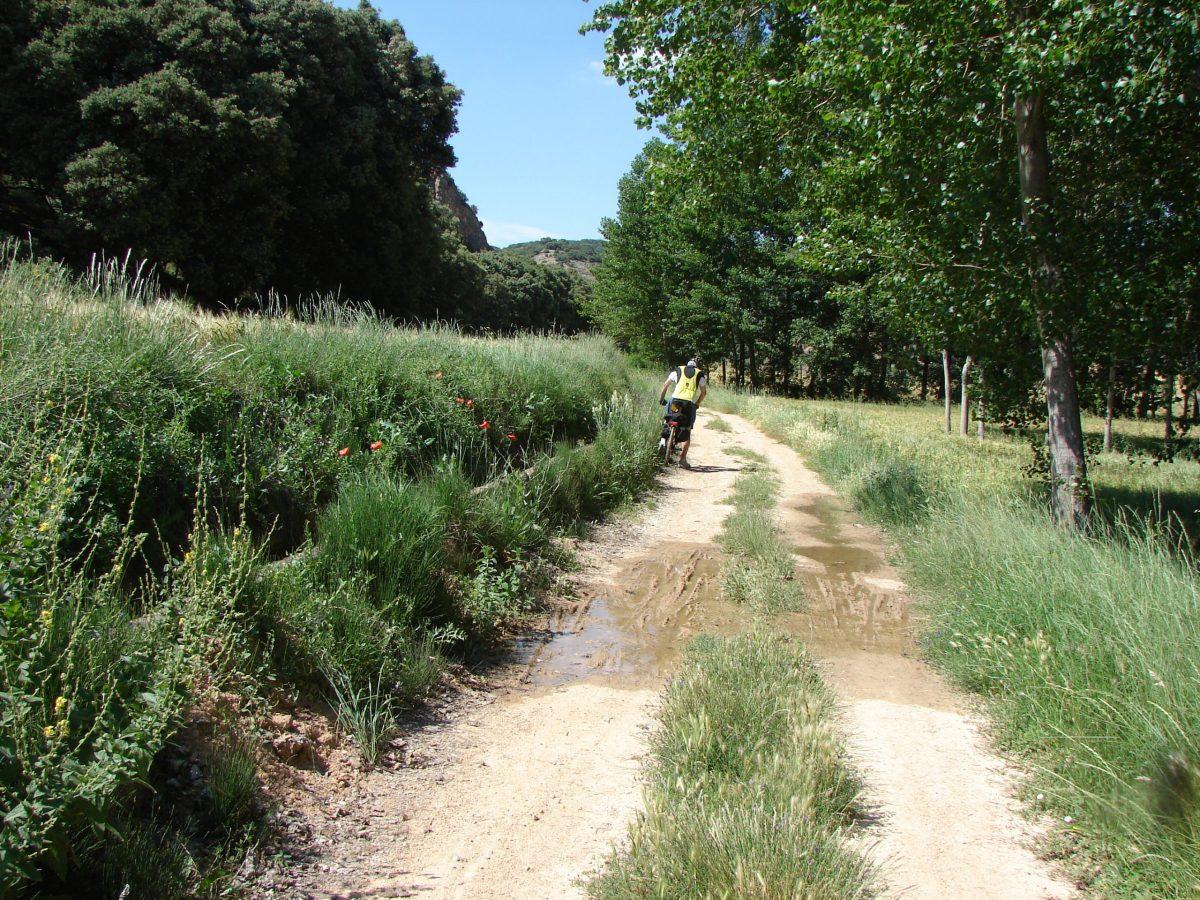 Bicicleta gravel desde Pamplona