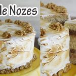 Como fazer torta de chocolate branco com nozes receita
