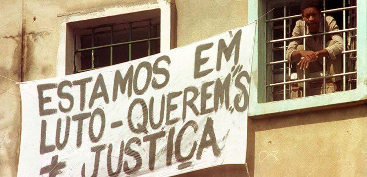 Detentos protestam e pedem por justiça após os massacres
