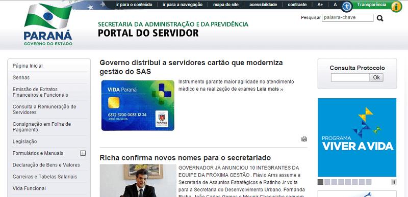 Read more about the article Portal dos Servidores do Paraná: Contracheque e Protocolo