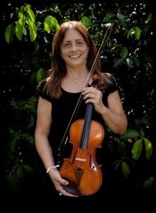 Foto de Ana Eleonor Ramalho, violino