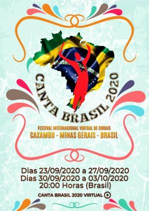 Cartaz Festival Canta Brasil