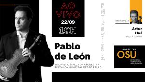 Cartaz encontros osu spallas Artur Huf Palbo de Léon