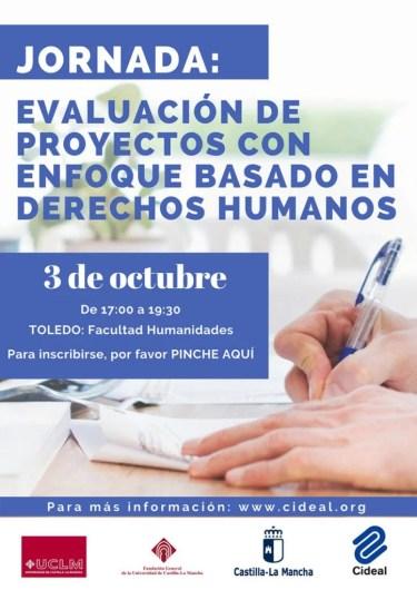 JORNADA: EVALUACIÓN DE PROYECTOS CON ENFOQUE BASADO EN DERECHOS