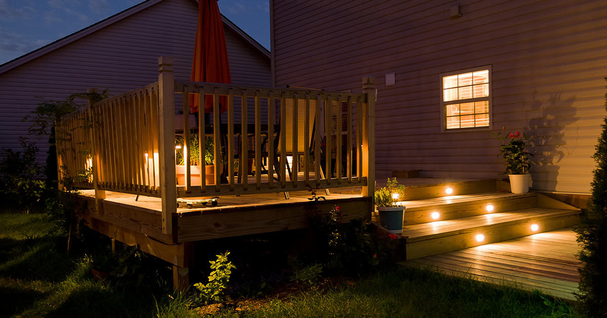 8 Best Outdoor Deck Lighting Ideas Beauty Safety And Security