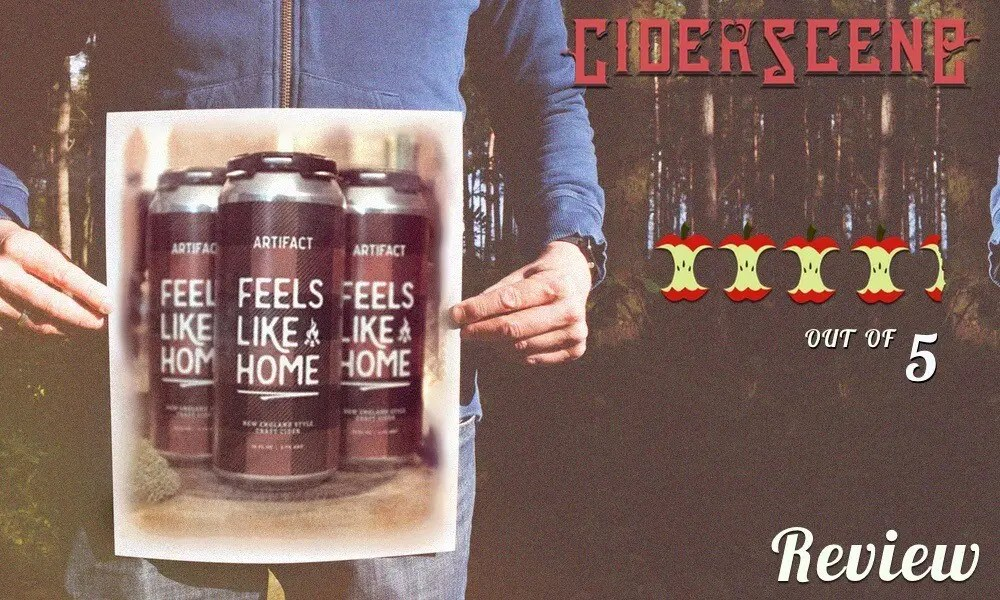 Artifact Cider Feels like home 4.5 out of 5 review score