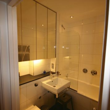 Basement bathroom in Chelsea property