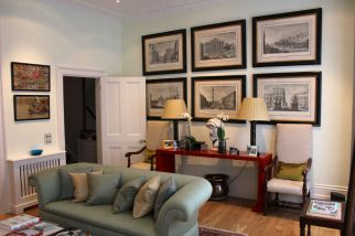 Beautifully refurbished drawing room in Chelsea