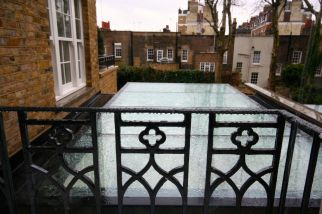 Contemporary Glass Roof Knightsbridge Development
