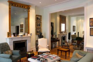 Double Drawing room created in Chelsea
