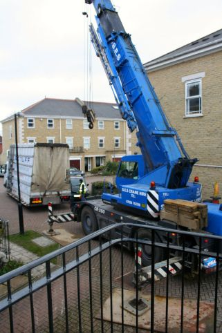 Glass delivery Fulham extension