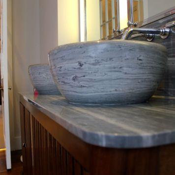 Luxurious basins in Knightsbridge