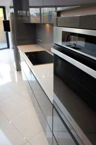Modern kitchen in Fulham Development