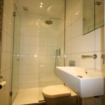 Shower-room in Chelsea basement
