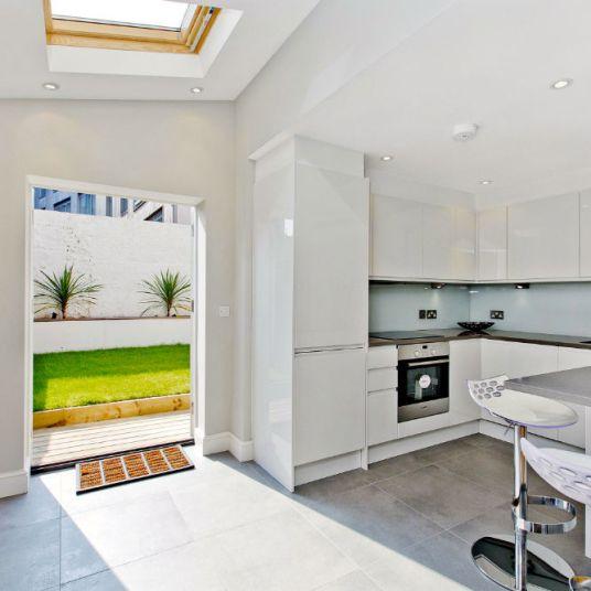 Side-return Kitchen extension South West London