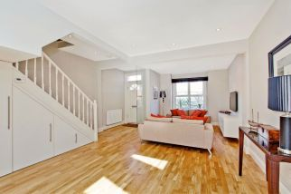 Stunning Open Plan Living area in Clapham refurbishment