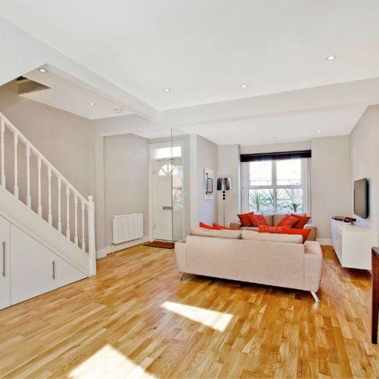 Stunning Open Plan Living area in Clapham refurbishment
