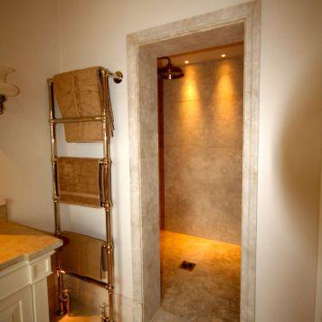 Sumptuous walk-in- shower in Knightsbridge