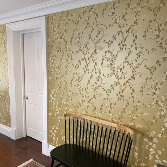 Wallpapering
