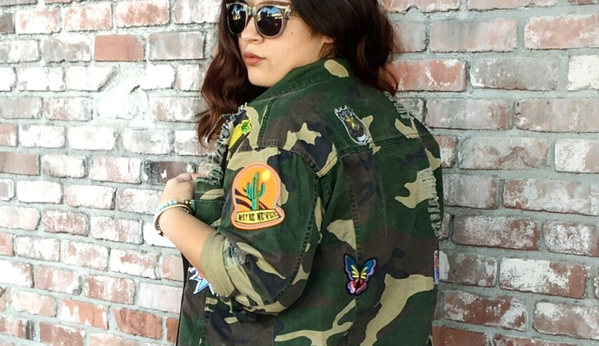 fall jackets, patches, embelish