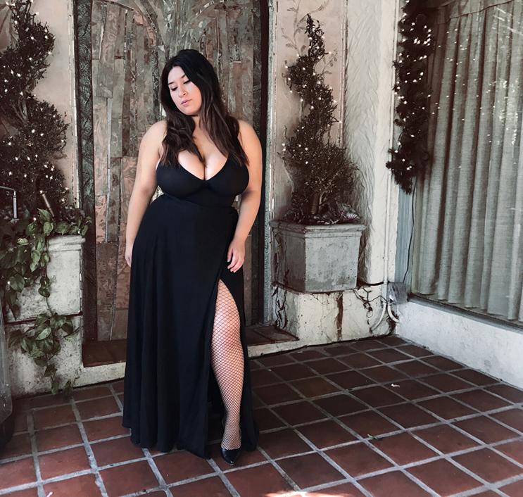 all black, skirt, showpo
