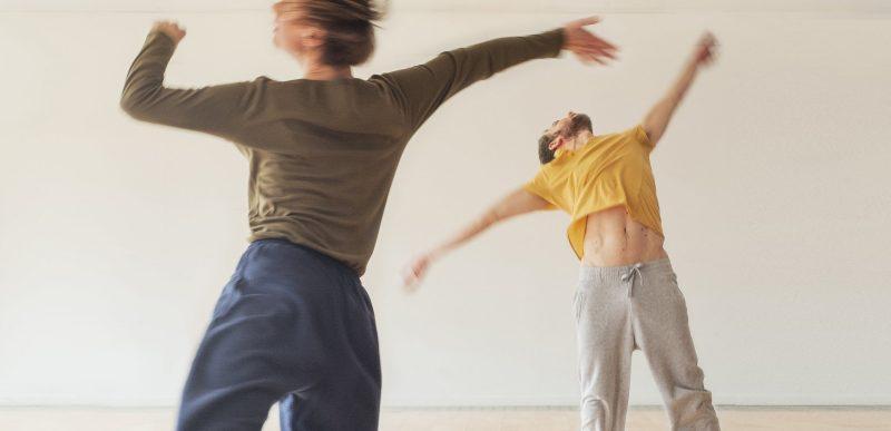 Entrainement du danseur en live