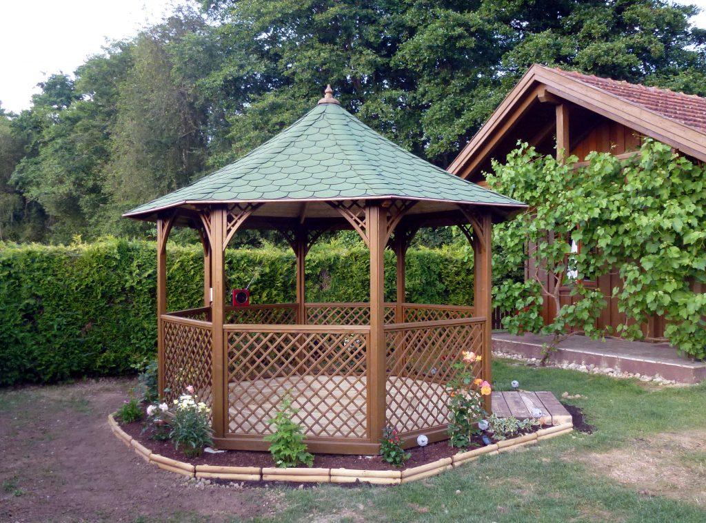 Cabane jardin ronde  Abri de jardin et balancoire ide