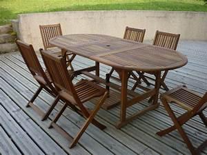 Nettoyer un salon de jardin en bois  Abri de jardin et balancoire ide