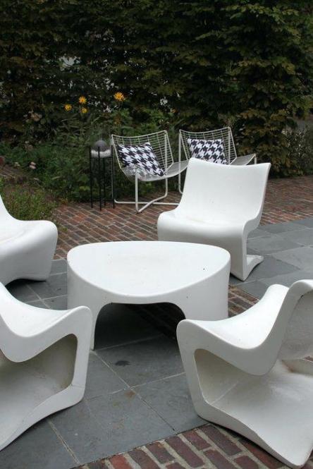 Nettoyer salon de jardin blanc  Abri de jardin et balancoire ide