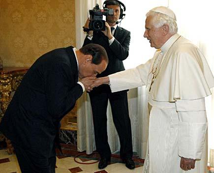 Il regime e la Chiesa cattolica.