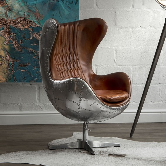 Hawker Egg Chair Spitfire Addition