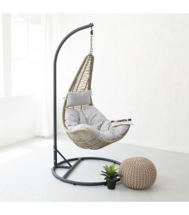 hanging chairs for sale eames chair replica patio swing cielo lucia stone