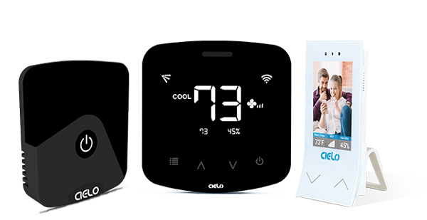 Buy Cielo Smart ac controllers to control your air conditioner or heat pumps from anywhere.