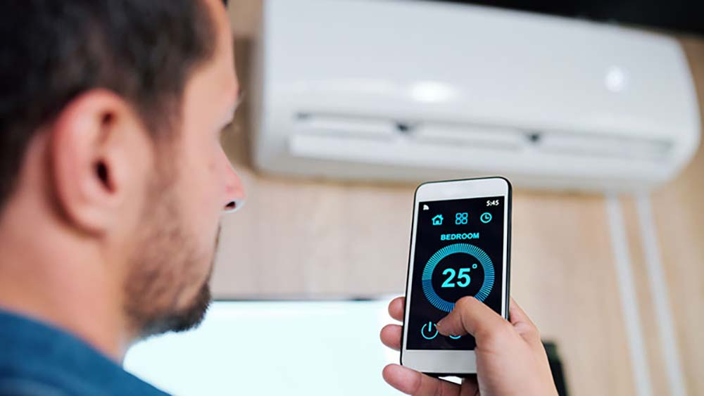 smart home climate control appliance: smart AC