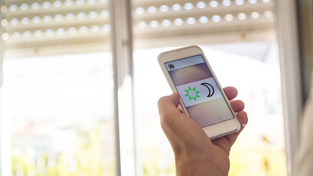 smart home climate control appliance: smart blinds