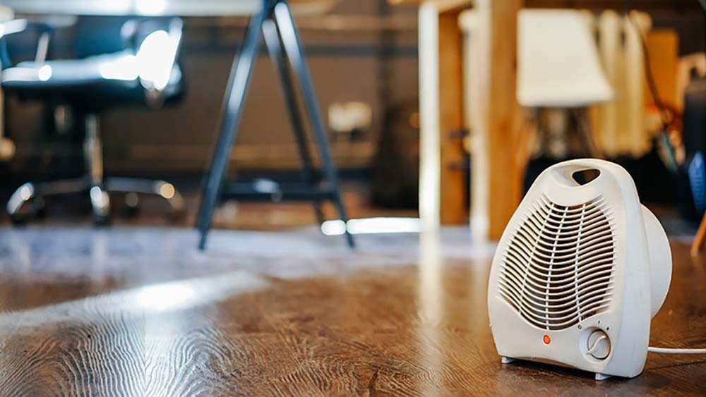 smart home climate control appliance: smart space heater