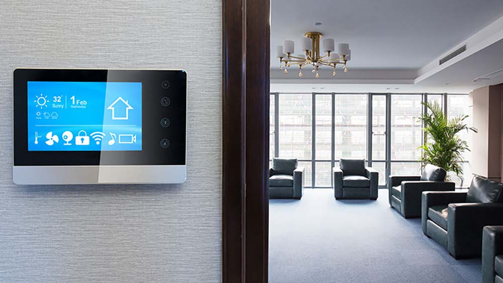 Smart home climate control thermostat