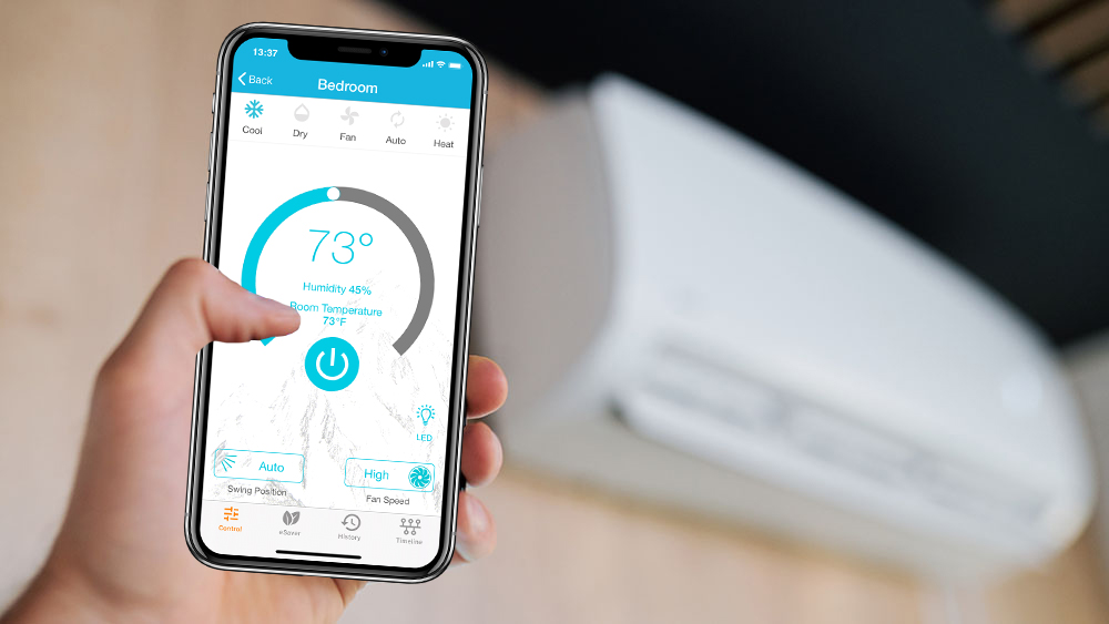 Cielo Breez Plus makes your air conditioning smart.
