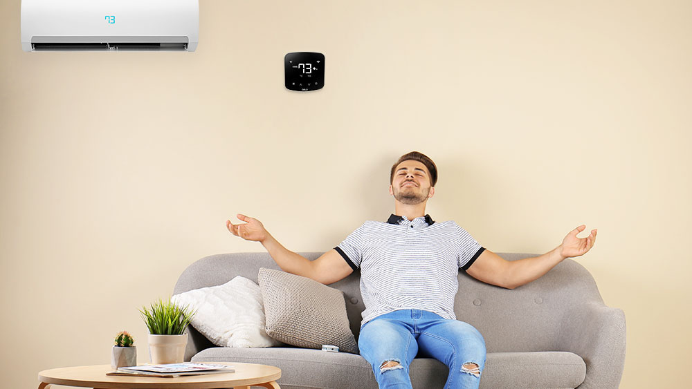 Increased efficiency with smart AC